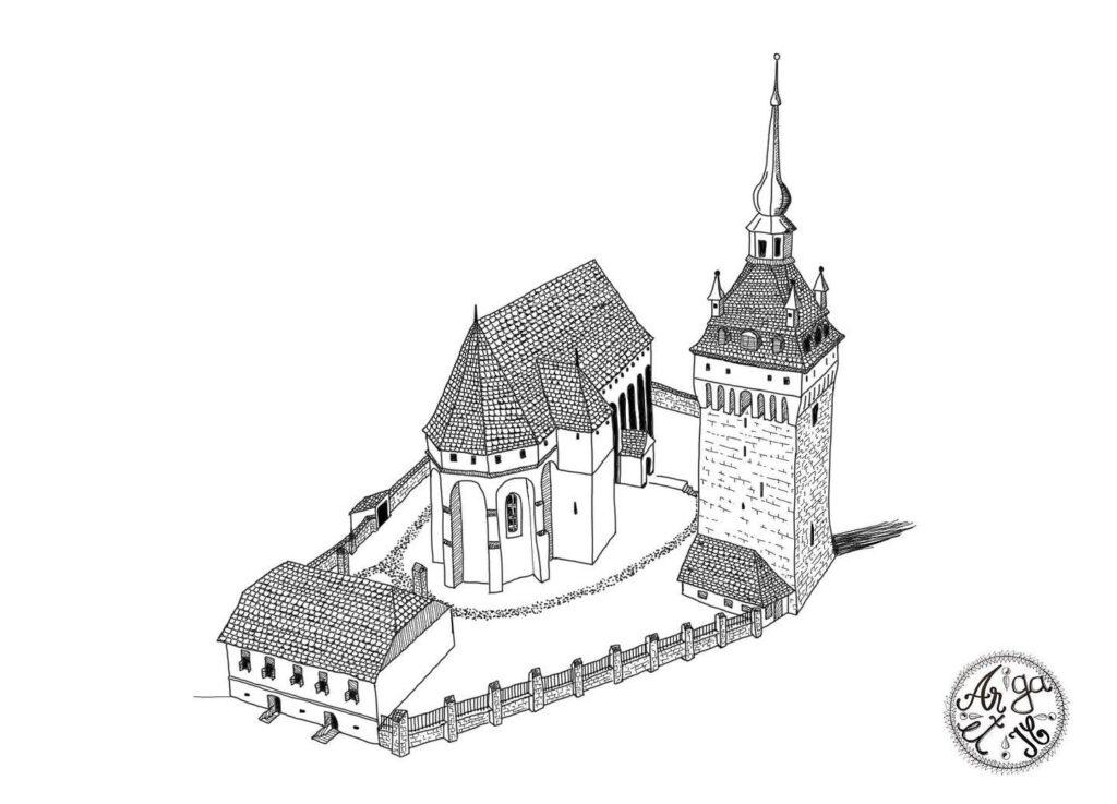 Saschiz-Biserica-Fortificata