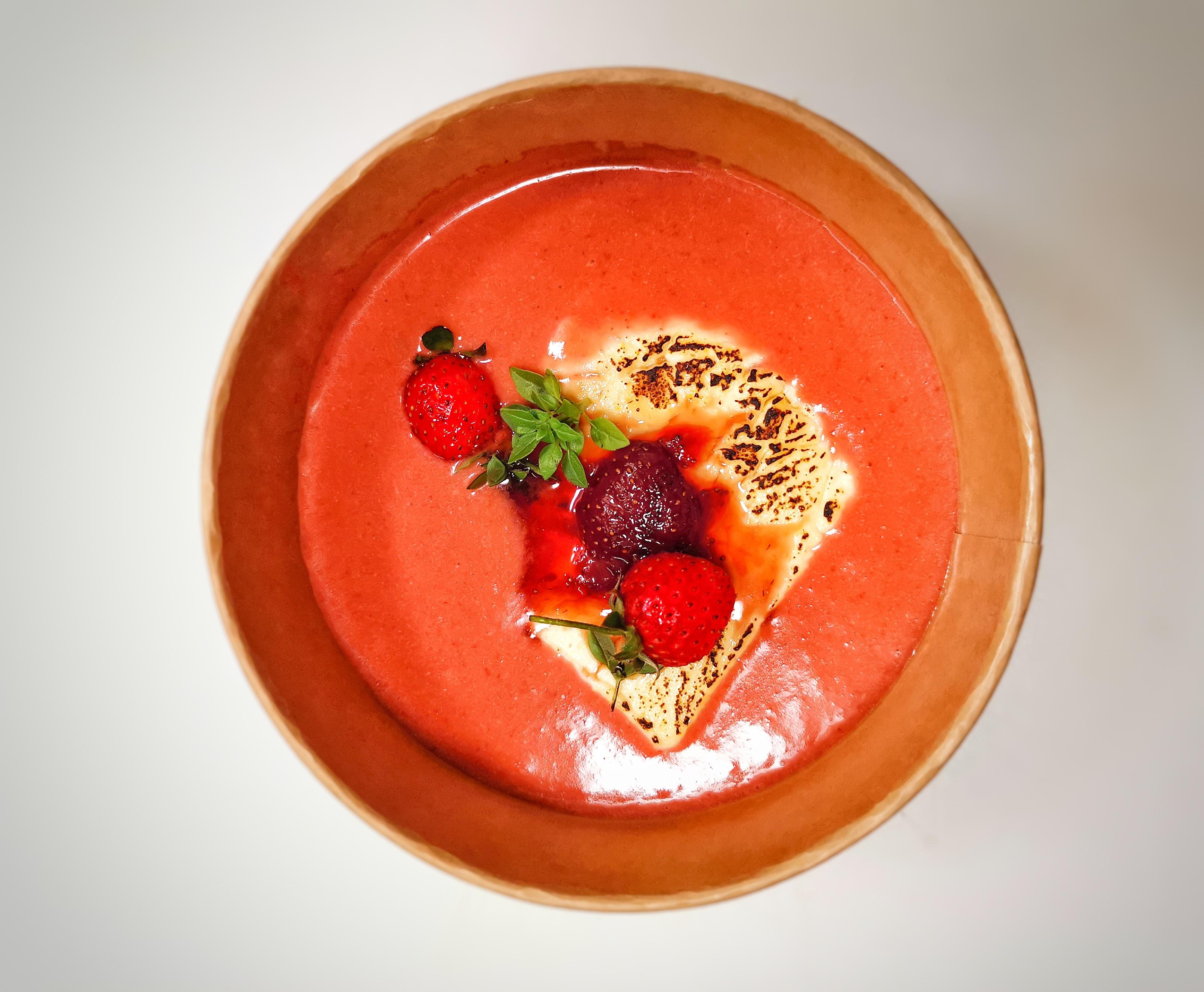 Supa de capsuni - Melinda